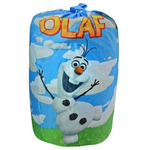Frozen Olaf Quilted Slumber bag , Sleeping Bag, 30 X 54 Inch, Pink Color , Best Gift for Kids Children (BLUE) by SVP