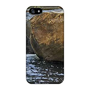 Special Megan A Ferguson Skin Case Cover For Iphone 5/5s, Popular The River The Stone Phone Case
