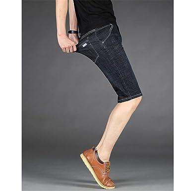 Amazon.com: Yehopere Pantalones vaqueros para hombre, estilo ...