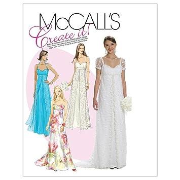McCalls M 6030 A5(6-14) Schnittmuster zum Nähen, Elegant ...