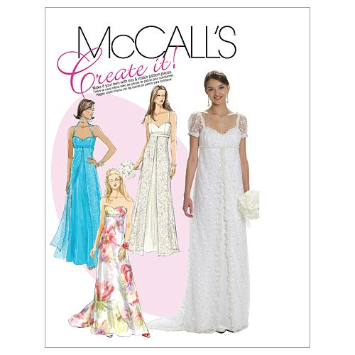 (McCall's Patterns M6030 Misses' Lined Dresses, Size A5 (6-8-10-12-14))
