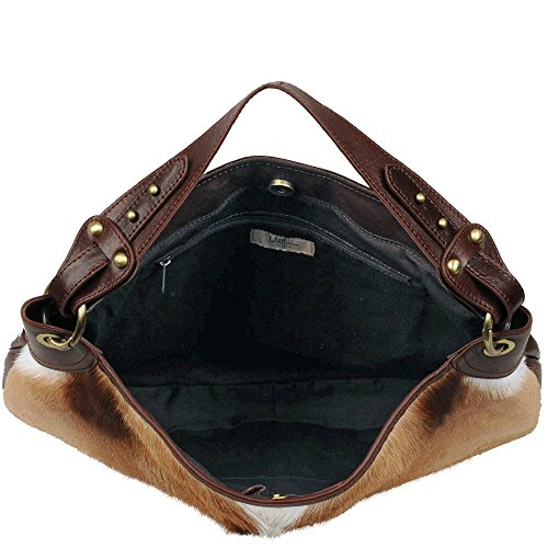 Spring Distressed Leather Back Buck Vintage Womens Hobo W Wilsons Leather Cognac x0PZqIq