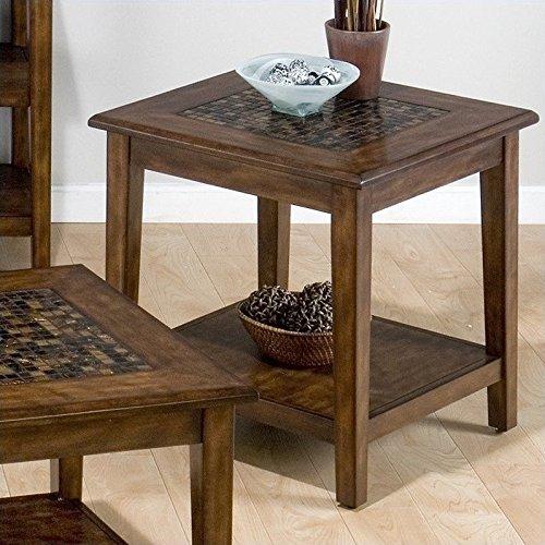 Jofran End Table in Multicolor ()