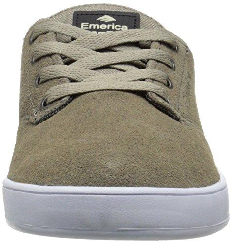 Emerica Laced by Leo Romero - Zapatillas de Skateboarding de ante hombre Beige (Tan 260)