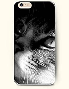 iPhone 6 Case 4.7 Inches Cat Watching - Hard Back Plastic Phone Cover OOFIT Authentic