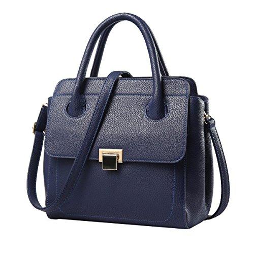 Messenger Bag Shoulder Handbag For Women Darkblue