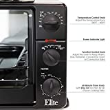 Maxi-Matic Convection Toaster Oven with Top Grill & Griddle Rotisserie, Bake, Grill, Broil, Roast, Toast, Keep Warm, 23L Capacity, 23 L, ERO-2008SZ