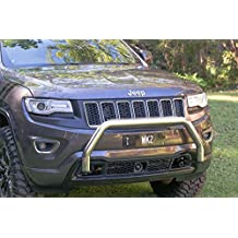 Chief Products WK2 Nudge Bar for 2011-17 Jeep Grand Cherokee Push Bull Bar (Mirror Polished)