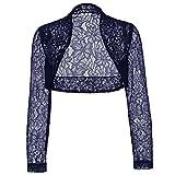 Product review for Amazleer Women's Long Sleeve Bolero Shrugs Crochet Lace Open Cardigan