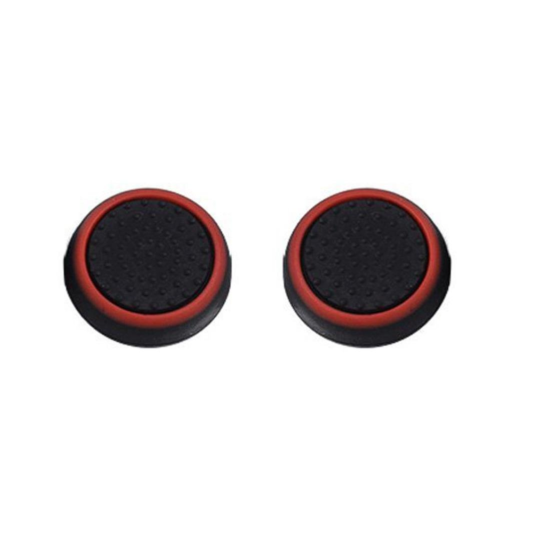 AMA(TM) Luminous Controllers Silicone Analog Thumb Grip Stick Cover Game Remote Joystick Cap (A)