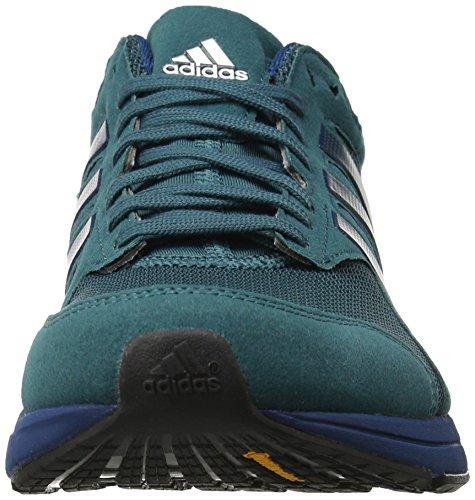 Adidas Performance Heren Adizero Tempo 8 M Hardloopschoen Tech Groen / Tech Staal / Tech Staalweefsel