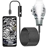 Endoscope, Borescope Inspection Camera for Smartphone