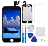 "for iPhone 6 Screen Replacement Black 4.7"" LCD Display Touch Digitizer Frame Assembly"
