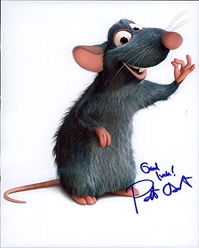 Signed Oswalt, Patton (Ratatouille) 8x10 Photo (Horizontal Bends) autographed