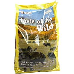 Taste of The Wild High Prairie - Roasted Bison & Venison - 5 lb