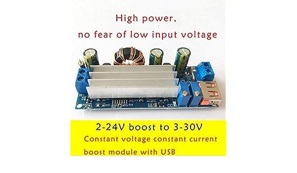 Constant Voltage//Current Booster Module DC Step Up 2-24V To 3-30V Board+USB Port