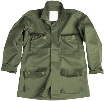 Mil-Tec BDU Combate Camisa oliva: Amazon.es: Deportes y aire libre