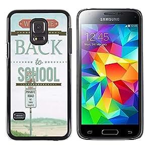 Dragon Case - FOR Samsung Galaxy S5 Mini, SM-G800 - back to school - Caja protectora de pl??stico duro de la cubierta Dise?¡Ào Slim Fit