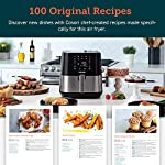 COSORI Air Fryer (100 Recipes, Rack, 11 Functions) Large Oilless Oven Preheat/Alarm Reminder, 5.8QT, Digital-Stainless…