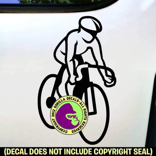 Cycling Biking Road Ride Bicycle Racing Vinyl Decal Sticker A