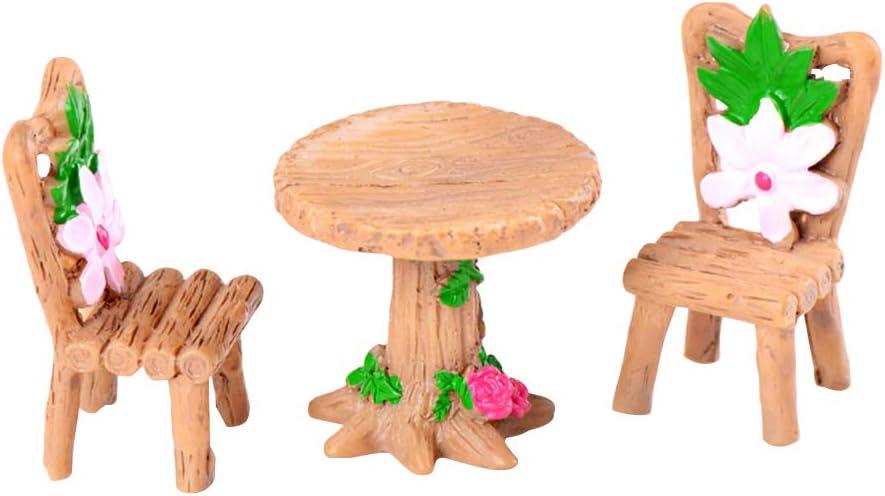 IMIKEYA Ensemble de Meubles en Bois Miniature pour Meubles de Maison de poup/ée Miniature