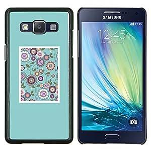 Stuss Case / Funda Carcasa protectora - Pétalo trullo Craft Draw Frame - Samsung Galaxy A5 ( A5000 ) 2014 Version