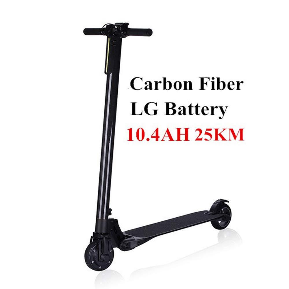 Scooter eléctrico, fibra de carbono ultraligera, scooter ...