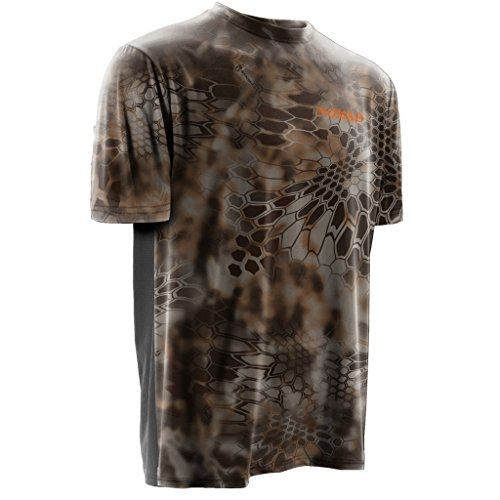 Nomad Outdoor Men's Short Sleeve Cooling Tee, Kryptek Banshee, 3X-Large