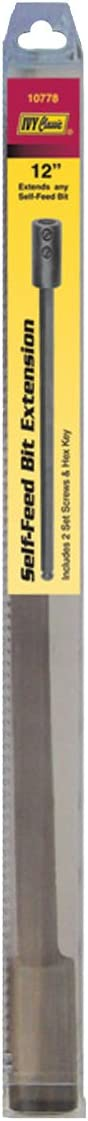 IVY Classic 10766 2-1//8 x 5-inch Heavy-Duty Self-Feed Bit 1//Card High-Speed Steel