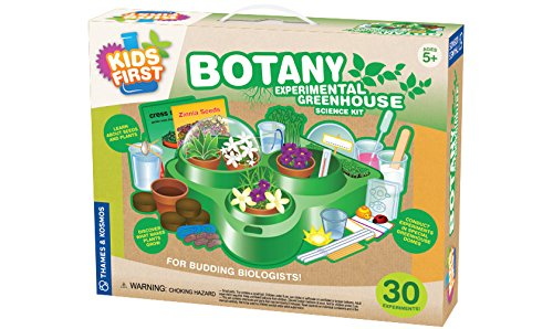 Kids first botany experimental greenhouse kit your for Gardening kit for toddlers