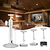 #10: Cewaal Projector Hanger Bracket, 23CM Extendable Video Projector Ceiling/Wall Mount Bracket with Adjustable Height Fits most projector Brands