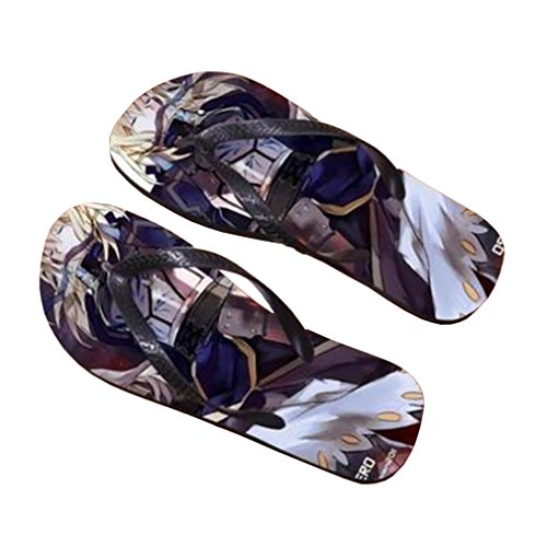 Bromeo Fate Zero Fate/stay Night Anime Unisex Flip Flops Chanclas 226