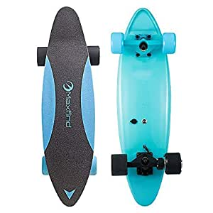 Amazon.com : MAX C Electric Skateboard 27\u002639;\u002639;, Max Speed 20km\/h 14MPH, Max Range 13km8miles