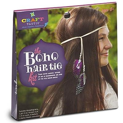 Craft-tastic Boho Hair Tie Kit: Toys & Games