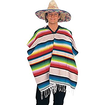 Rubie's Costume Co Mexican Serape (Poncho) Costume