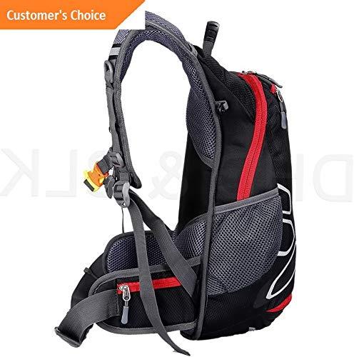 Kaputar Ligheight Backpack with Helmet Storage Water Bladder Men Women Travel Outdoor 624 Model BCKPCK