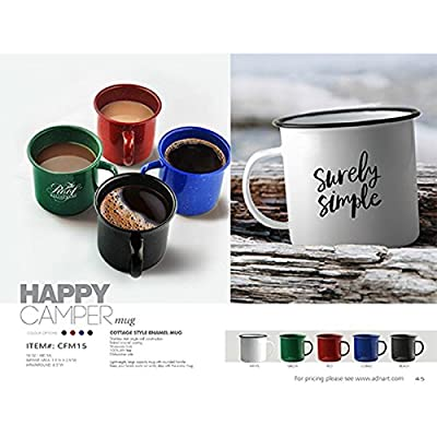 Asobu Happy Trails Classic Country Camper Coffee and Tea Mug