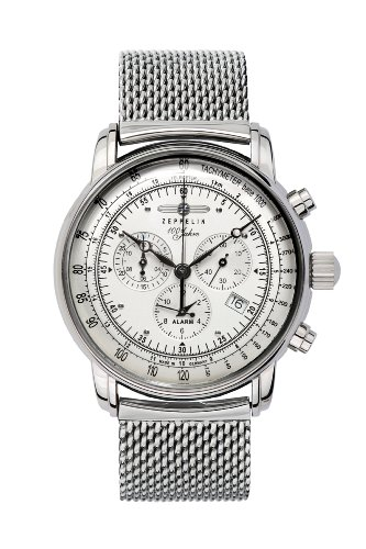 Zeppelin Chronograph/ Alarm Watch 7680M-1