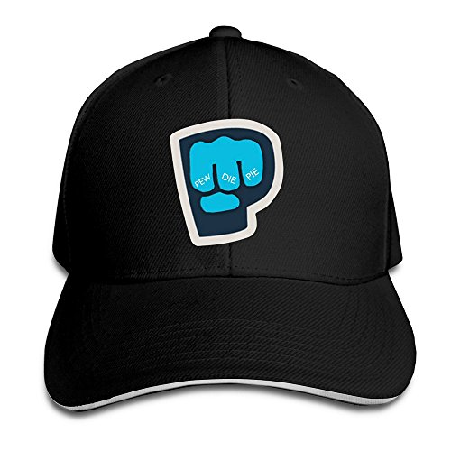sunny-fish6hh-unisex-adjustable-pewdiepie-fist-logo-baseball-caps-hat-one-size-black