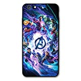 Comics iPhone 6s Case iPhone 6 Case Full Body Protection Cover Case (Avengers-mv)