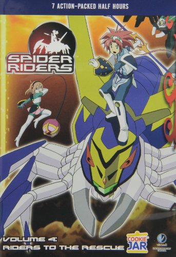 Spider Riders - Volume 4: Riders To The Rescue