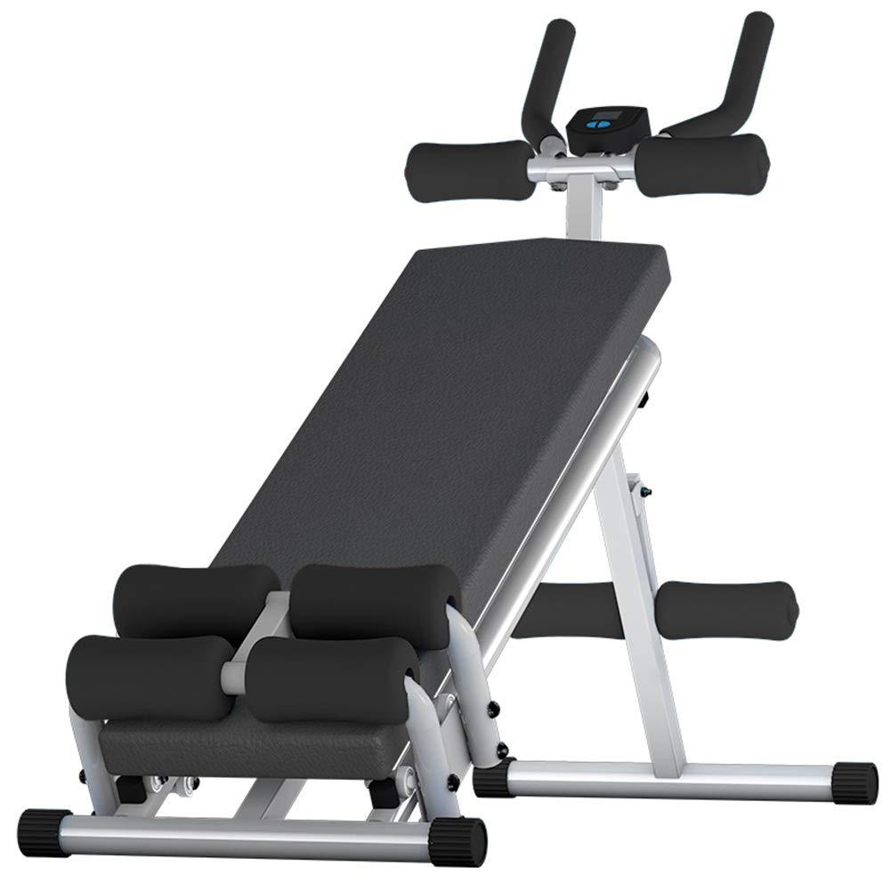 JIANFEI 腹筋トレーニング 腹筋運動 電子カウンター 腹筋運動 脂肪を減らす 高さ調節可能 耐荷重性 150KG 111x40x95cm、3色 150KG (色 : 黒, サイズ さいず : 111x40x95cm) 111x40x95cm 黒 B07NPPC4LH, R&CROSS ONLINE STORE:4144e64f --- sharoshka.org