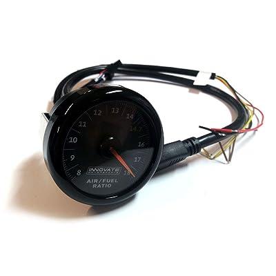 MTX-AL Air/Fuel Ratio Gauge Kit w/Black Dial: Automotive [5Bkhe1514488]