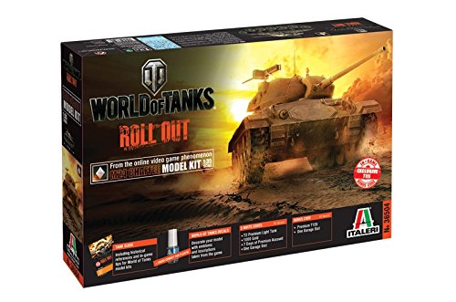 Italeri 36504 World of Tanks WoT M24 Chaffee Tank