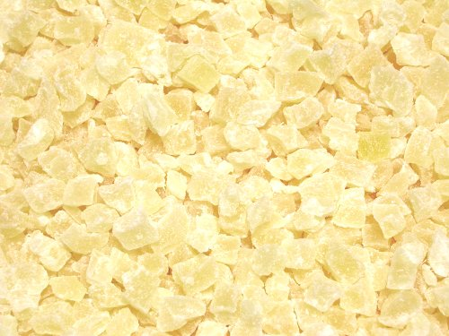 Dried Diced Pineapple, Low Sugar No Sulfur (Natural Dices, no SO2)