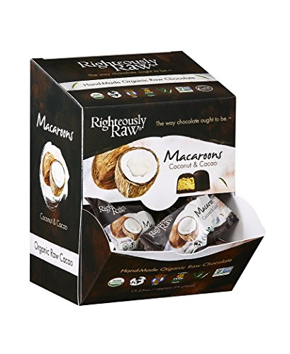 Righteously Raw Coconut Macaroons (12 Units)