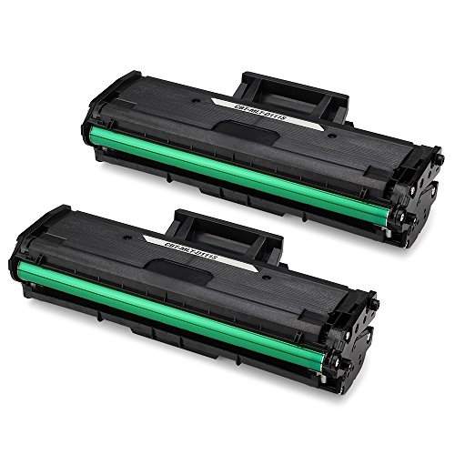 JARBO Compatible Toner Cartridges Replacement for Samsung MLT-D111S MLTD111S, High Yield, 2 Black, Compatible with Samsung Xpress M2020W, Samsung Xpress M2070FW, Samsung Xpress M2070W Laser Printer