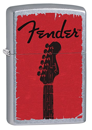Zippo Lighter: Fender Guitar - Street Chrome 79311 ()