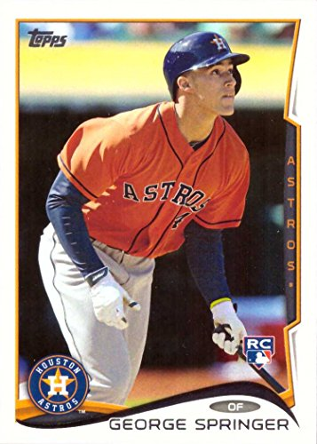 2014 Topps Update Baseball #US-10 George Springer Rookie Card