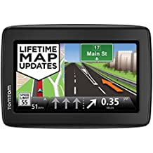 TomTom VIA 1415M 4.3-Inch Portable Touchscreen Car GPS Navigation Device - Lifetime Map Updates (Certified Refurbished)